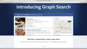 What is Facebook Graph Search?