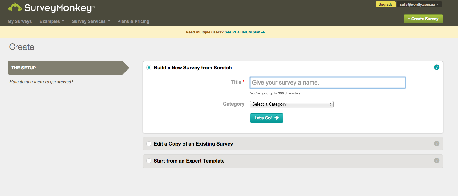 how to create effective survey questions