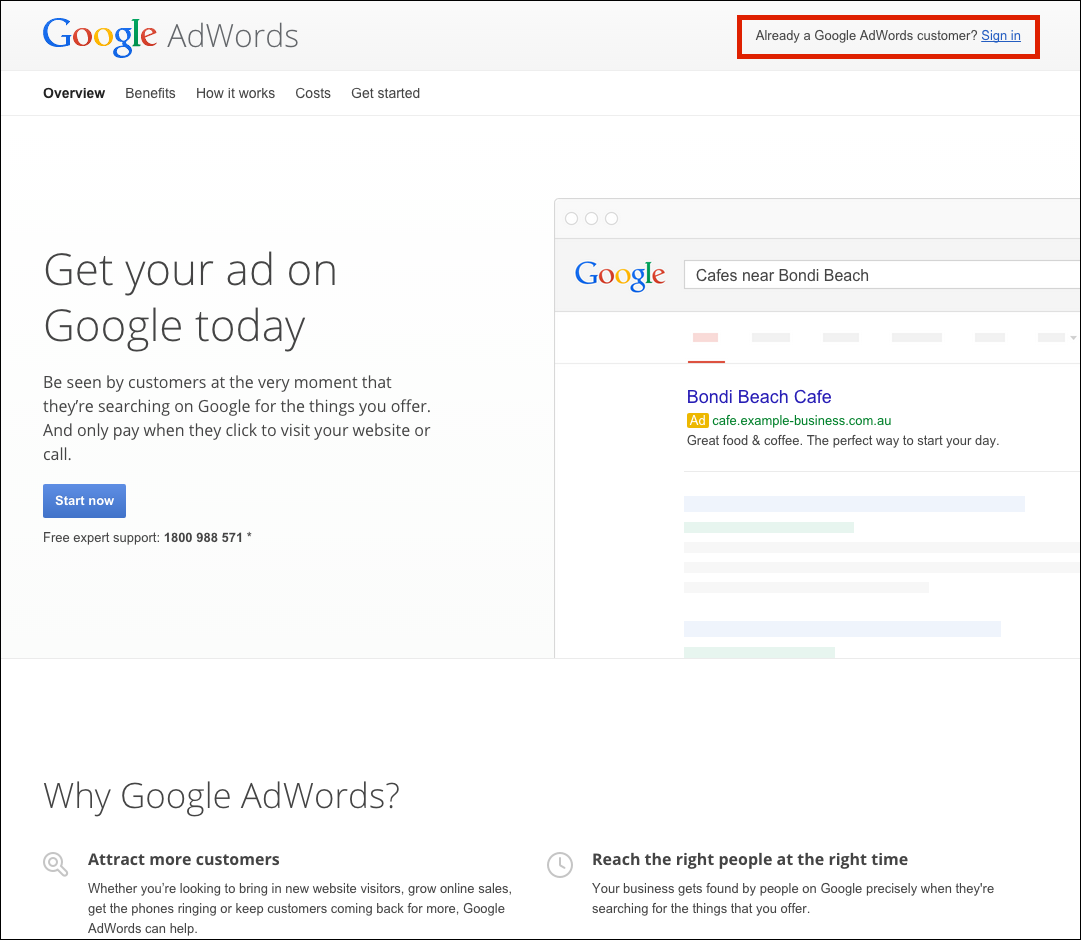 how to end google adwords campaign