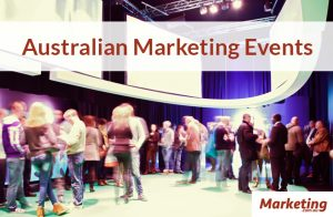 Marketing Conferences and Events April 2016