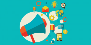 marketing tips b2b vector