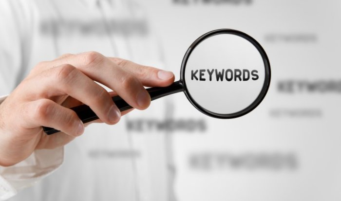 use keywords strategically