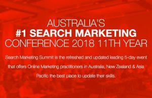Search Marketing Summit 2018
