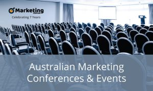Monthly Australian marketing events