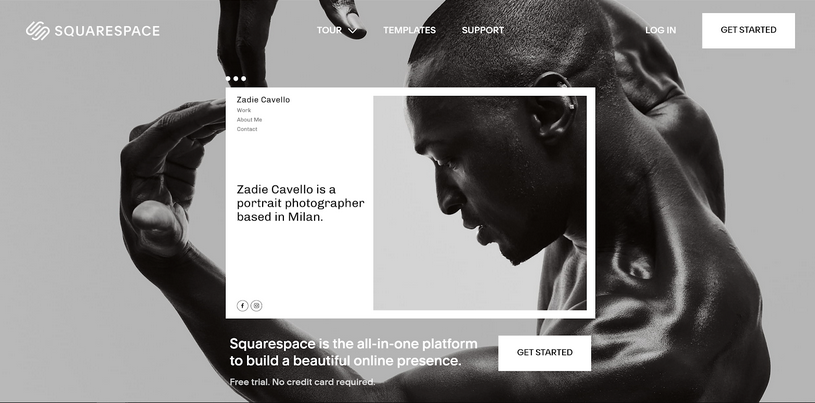 Squarespace landing page optimisation